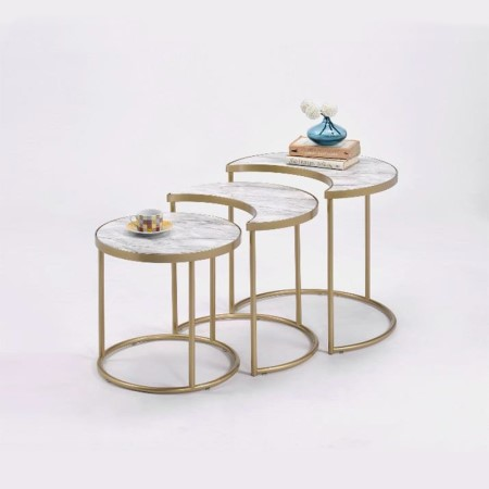 Metal Nesting Tables - ST-12