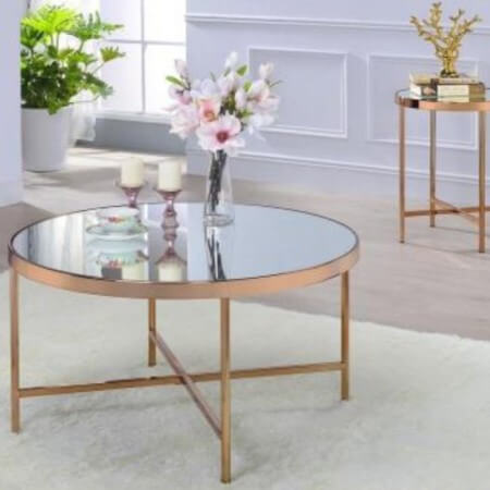 Small Metal Coffee Table - CT-21