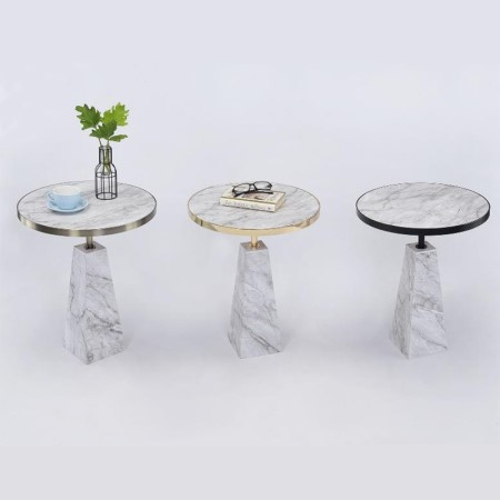 Round Metal Side Table - ST-11